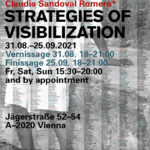 by Claudia Sandoval Romero*Strategies of Visibilization